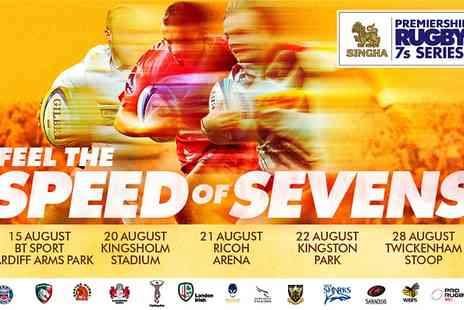 Premiership Rugby - Ticket to Singha Premiership Rugby 7s Series - Save 86%