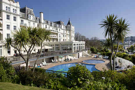 The Grand Hotel - One night stay in  Devon - Save 0%
