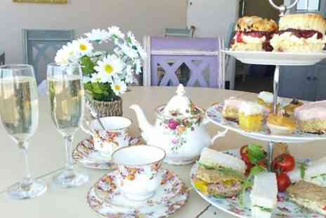 The Good Life Cafe - Afternoon Tea With Prosecco For Two - Save 66%