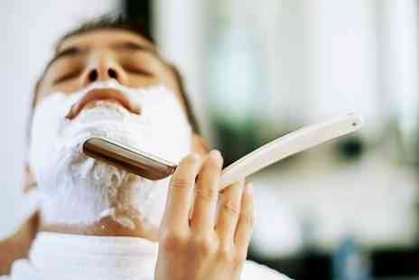 Kamrans Barbers -  Haircut, Hot Towel Shave and Indian Head Massage  - Save 55%