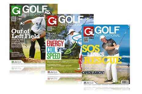 Sports Publications - 12 Month 8 Issue Golf International Magazine Subscription With Free Delivery  - Save 47%