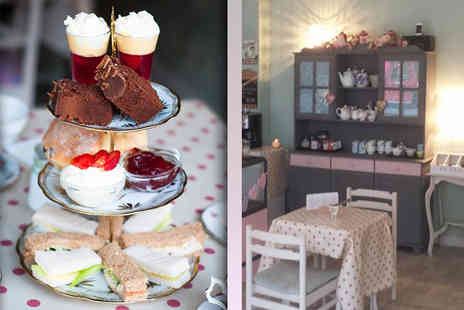 The Vintage Powder Room and Tea Shop  - Vintage afternoon tea for two  - Save 50%