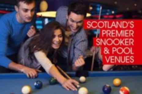 The Ball Room  - Two hrs of pool or snooker with a 12' pizza to share for up to Four  - Save 0%