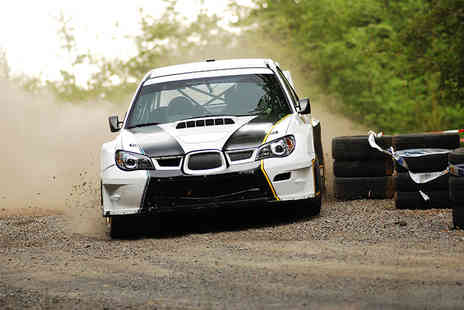 Rally Rides - Subaru rally passenger ride - Save 24%