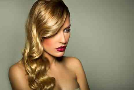 Millionhairs - Cut and Blow Dry With Conditioning Plus Half-Head Highlights  - Save 45%