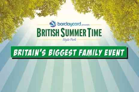 AEG Live - Ticket to BST Hyde Park Family Day With Frozen Sing Along World Record Attempt - Save 66%