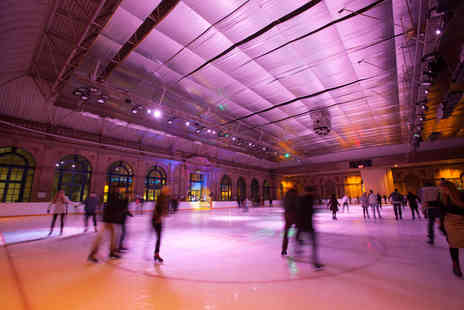 Alexandra Palace Ice Rink - Two and a half hours of ice skating for two  - Save 60%