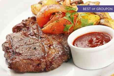 The Buck Inn - Two Course Steak Meal For Two  - Save 53%