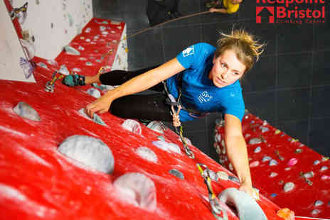Redpoint - Climbing Taster Session for Two  - Save 40%