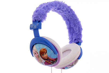 Sonic - Official Frozen Fuzzy Headphones - Save 60%