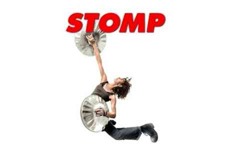 Stomp - Tickets to Stomp with dinner for Two - Save 0%