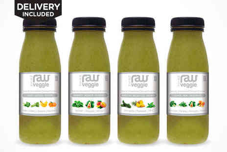 Nosh Detox - Three Day Raw Green Detox Package Delivery Included - Save 59%