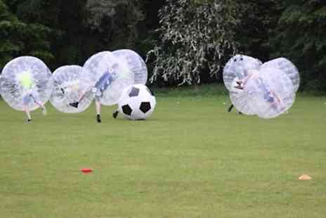 Bubble Football East Midlands -  One Hour Bubble Football  Game For Up to 12  - Save 0%