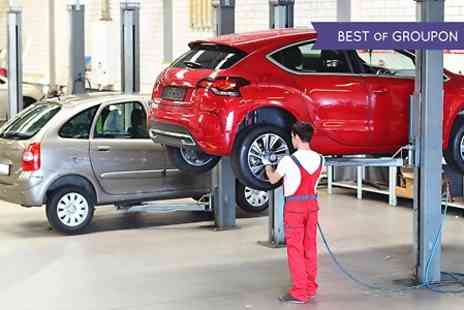 Geo Tech - 54 Point Service, Oil and Filter Change Plus Wheel Alignment Test - Save 0%