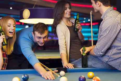 The Ball Room - Two Hours of Pool or Snooker and Nachos Platter For Four  - Save 0%