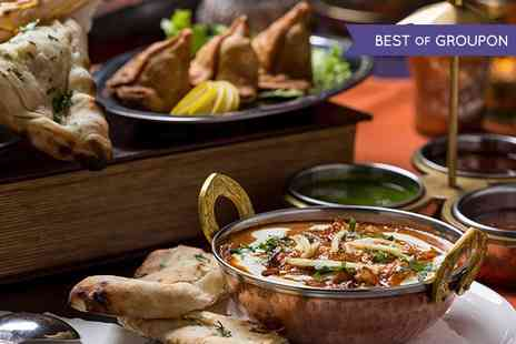 Mister Singhs India - Indian Tapas Lunch For Two  - Save 69%