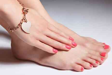 Get Nailed - Gel Mini Manicure or Pedicure or Both - Save 60%