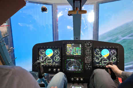 Hields Aviation - One Hour Helicopter Flight Simulator Experience for One  - Save 81%
