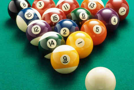 The Ball Room - Three Hours of Pool or Snooker with Nachos for Two - Save 54%