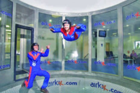 Airkix - Indoor Skydiving Experience with DVD and Photo for One Person - Save 67%