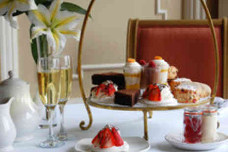 The Queens Hotel - Sparkling Afternoon Tea for Two  - Save 38%