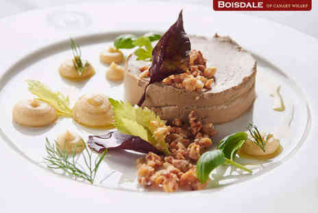 Boisdale of Canary Wharf - Two Course Meal with Glass of Prosecco and Live Music for Two  - Save 43%