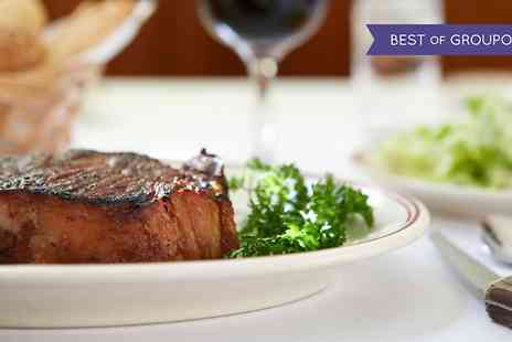 The Leonard Hotel - Steak and Wine  - Save 50%