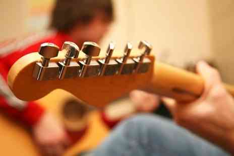 The Guitar Workshop - Five Private Guitar Lessons   - Save 60%