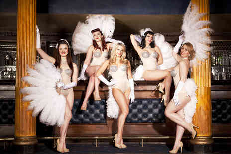 Privee of Knightsbridge - Three Course Meal, Champagne Cocktail and Burlesque - Save 65%