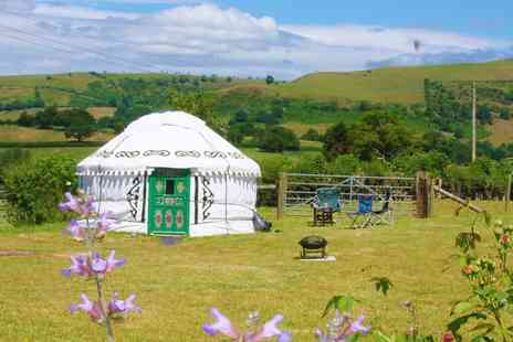 Barnutopia - Two or Four nights in a Barnutopia yurt for Four with breakfast, wine & more - Save 46%