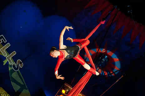Russells International Circus - Two adult tickets to the UK Aerial Performance Championships 2015  - Save 42%