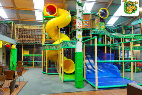 The Jungle - Soft Play Centre Entry with Drink Each for Two   - Save 65%