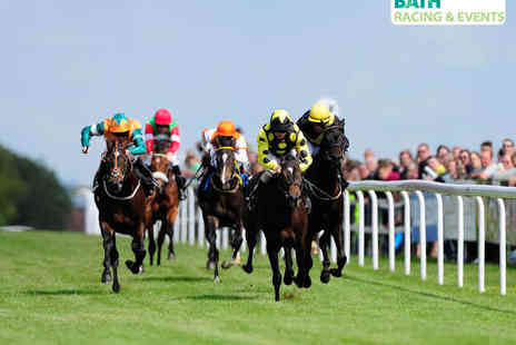 Bath Racecourse - Grandstand Tickets to Bath Race Course for Two with Programme - Save 53%