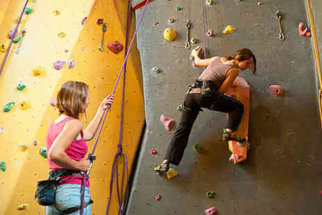 Dynamic Rock - Indoor Rock Climbing Session for Two - Save 39%