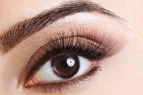 The Painted Ladies - Semi Permanent Lash Extensions Plus Eyebrow Shape and Tin - Save 60%