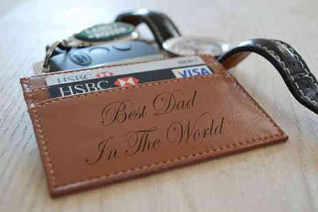 acrylicsignsuk - Personalised Engraved Leather Wallet - Save 45%