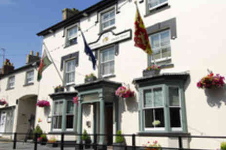 Gwestyr Emlyn Hotel  - Welsh Escape for Two - Save 58%