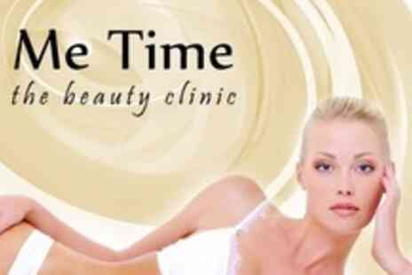 Me Time - Full Leg and Underarm Wax With Extended Bikini or Bikini Wax - Save 68%