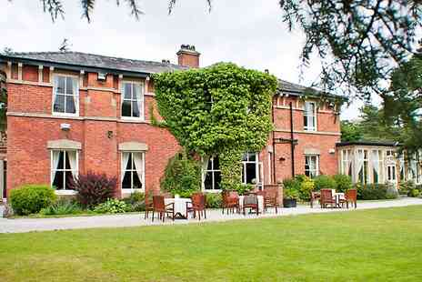 4* Bartle Hall Country Hotel - One Night Family Stay With Cream Tea and Zoo Tickets  - Save 0%