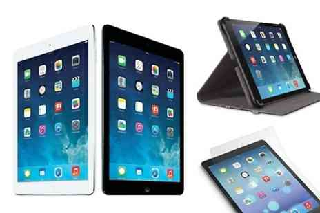 Yellowstone Partners - Refurbished Apple iPad Air 16GB-128GB with XtremeMac Screen Protector and Belkin Case With Free Delivery - Save 0%