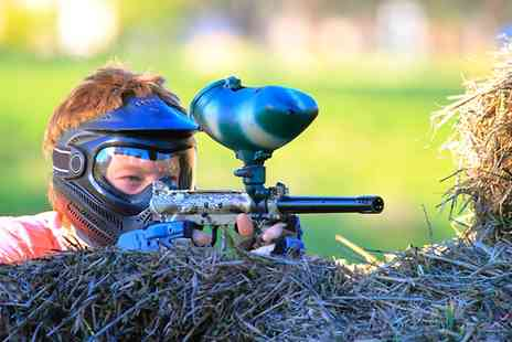 Allied Paintball - Paintball For 10 With Lunch at Allied Paintball - Save 96%