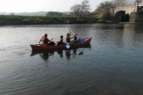 Hire a Canoe - Days canoe or kayak hire for two  - Save 68%
