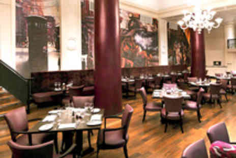 Grand Central Hotel - 6oz Steak Dinner with a Bottle of Wine for Two  - Save 57%
