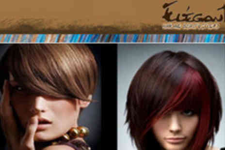 Elegant Studio - Stunning Hair Treatment Package Wash, Hair treatment, Styling and a Head massage - Save 66%