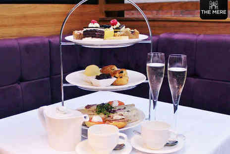The Mere Golf Resort and Spa - Afternoon Tea for Two with a Glass of Prosecco Each - Save 0%