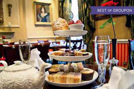 The Leonard Hotel - Afternoon Tea With Champagne For Two  - Save 44%