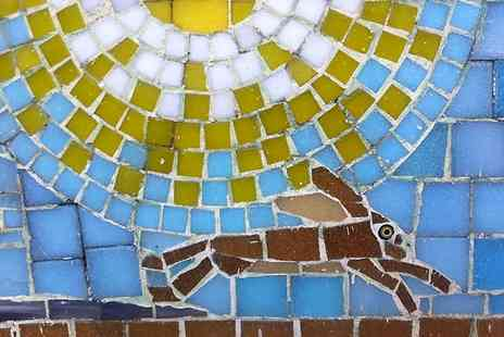Go Create - Three Hour Mosaic Workshop For One - Save 55%
