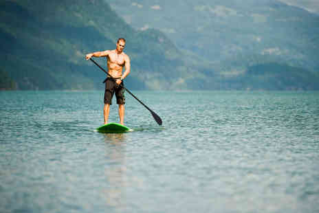 Hire a Canoe - Two Hour Paddle Board Experience for Two - Save 53%