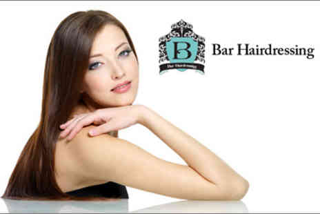 Bar Hairdressing - Super-straightening Brazilian blow dry & keratin treatment - Save 71%