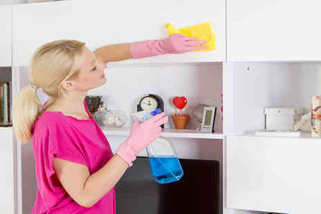 Cobswebs The Cleaners  -  House cleaning service on seven rooms  - Save 76%